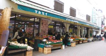 ㈲セルシオ新小岩店が入居するスーパーマルセイ東 新小岩店